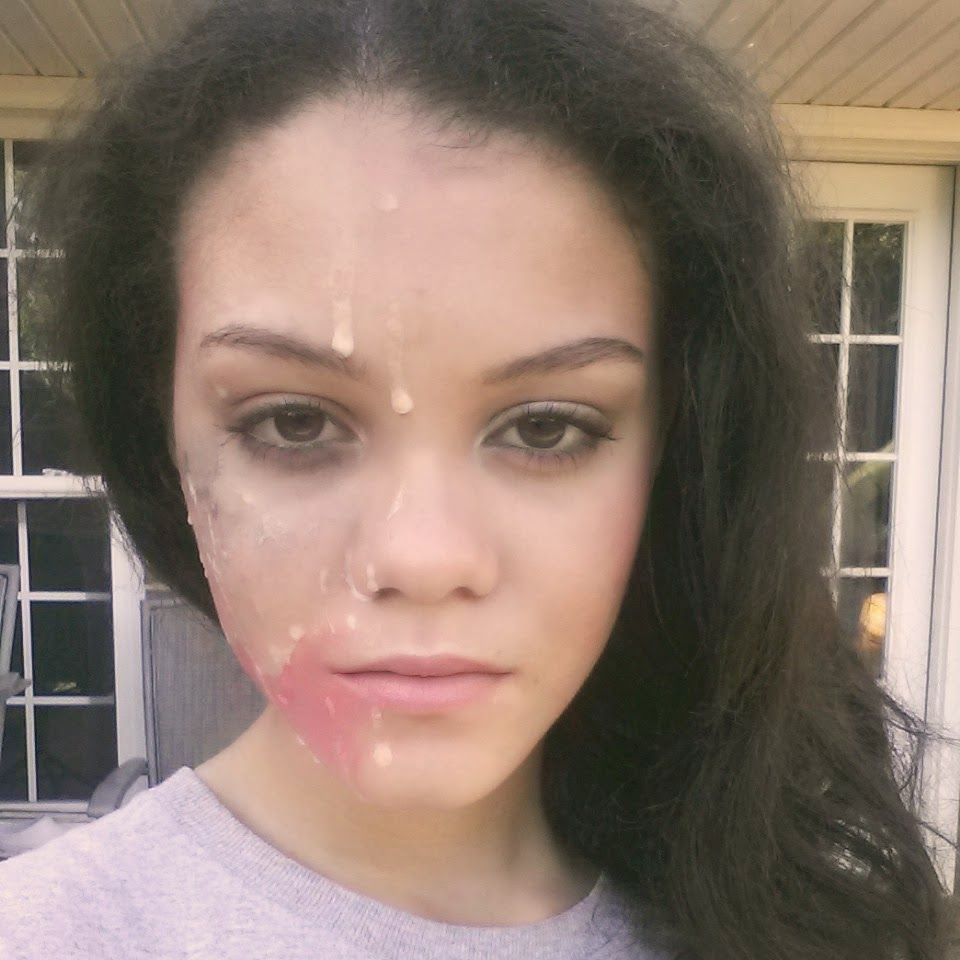 Cum on young girl face
