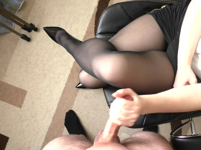 Cum on pantyhose pictures
