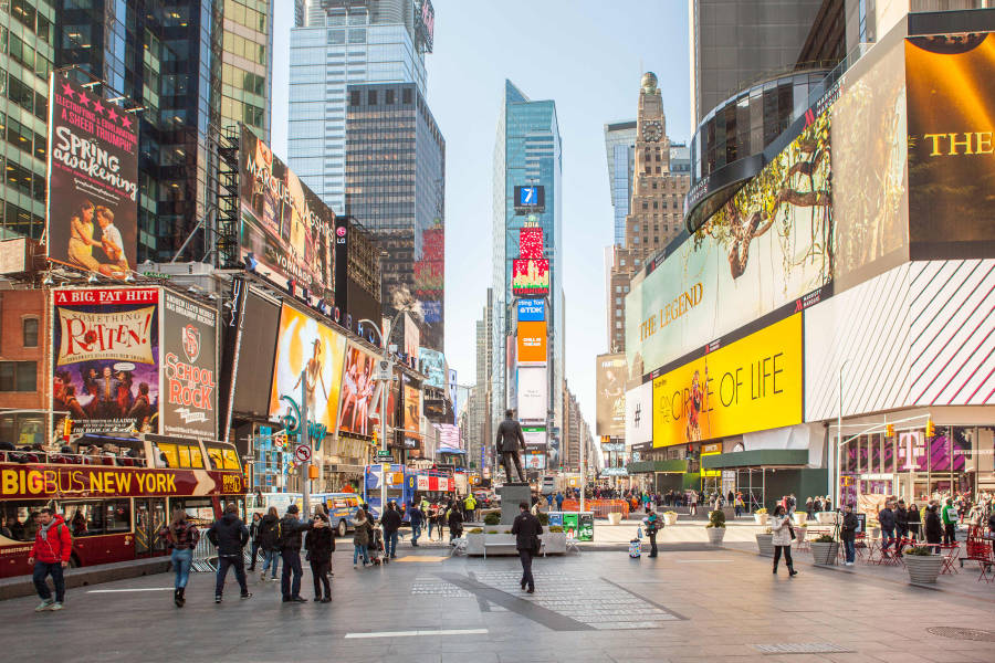 Famous musicals set in new york